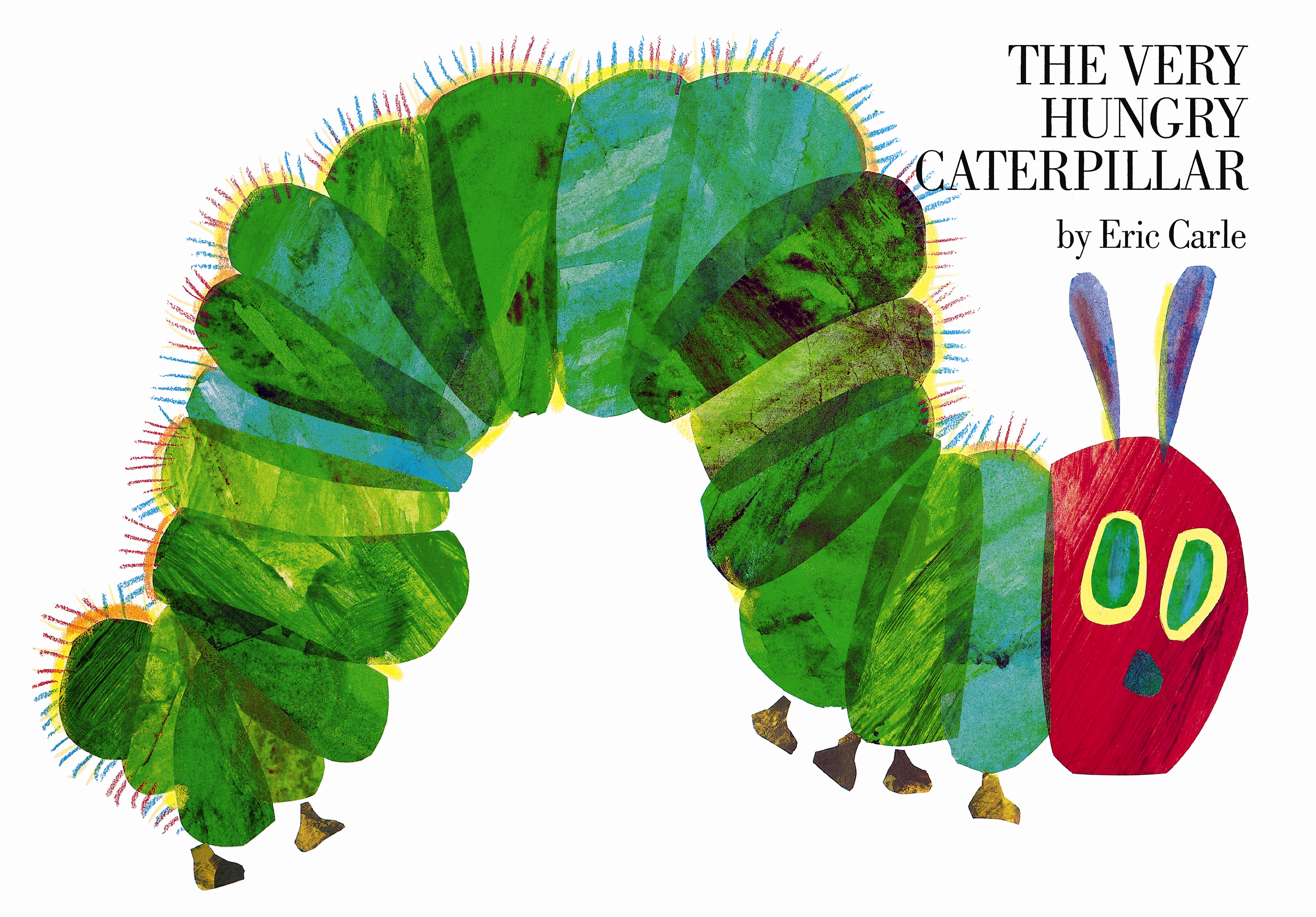 It's just a graphic of Mesmerizing The Very Hungry Caterpillar Printable Book