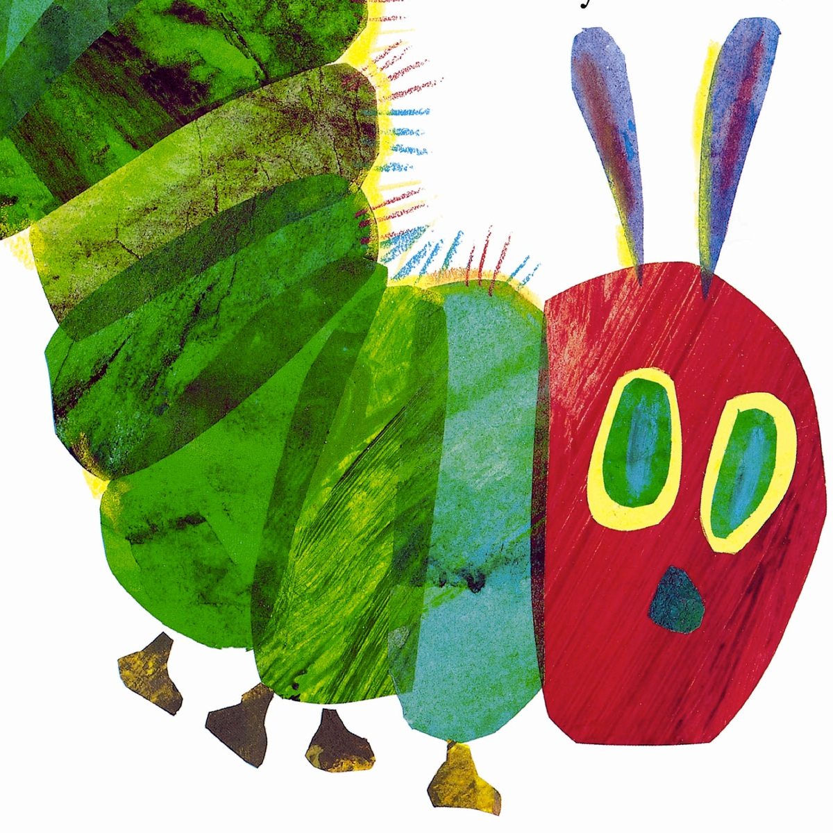 Hungry Book Caterpillar Cover