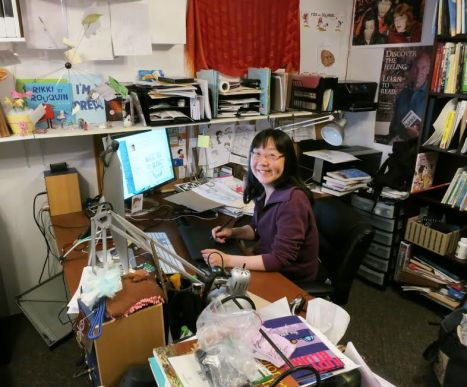debbie ridpath ohi at desk