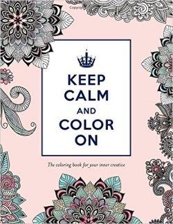 keep calm color on