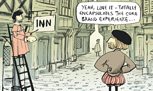 Berger & Wyse cartoon