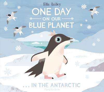 one day blue lanet antarctica