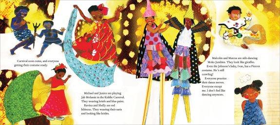 malaika's costume spread