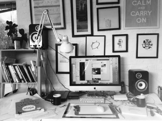 alex latimer work space